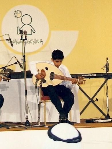 المهرجان الثاني للأطفال الموهوبين موسيقياً - الجمعية البحرينية لتنمية الطفولة-20 مايو 1998م-03
